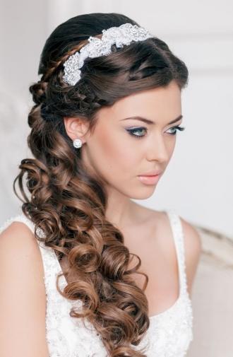 Прически с длинными волосами на свадьбу (фото коллекция)