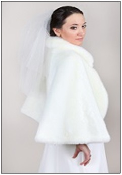 Поступление свадебных шубок