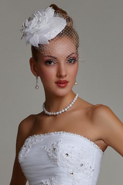 Свадебные шляпки вуалетки