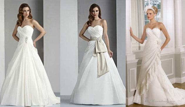 «А-силуэт» или «принцесса» свадебное платье