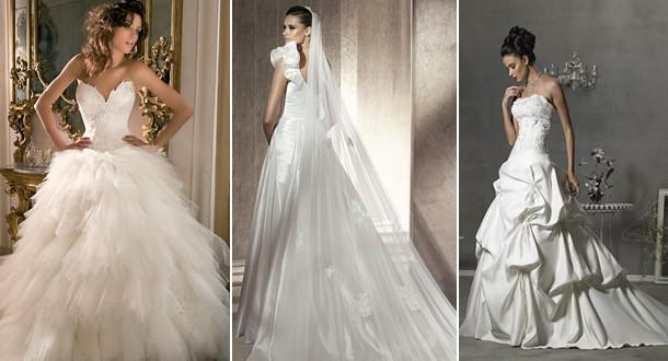 Фасоны свадебных платьев с фото, как выбрать по типу фигуры