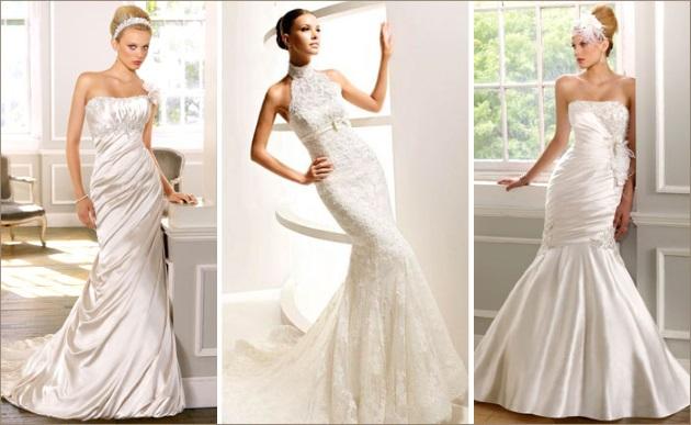 «Русалка» свадебное платье