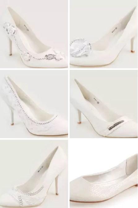 Свадебные обувь (туфли и балетки)