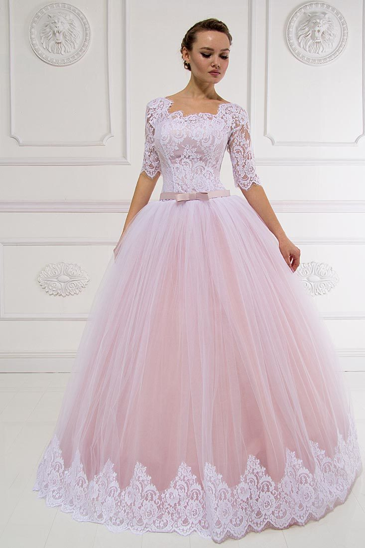 Платье свадебное Пудра