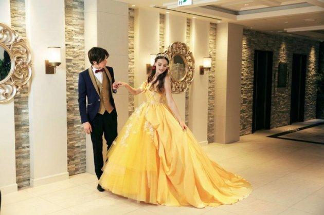 Фото свадебных платьев в стиле принцесс из Disney