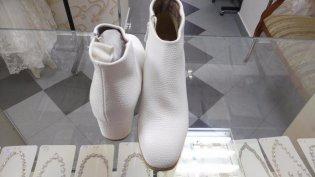 Свадебные ботильоны на удобном каблуке
