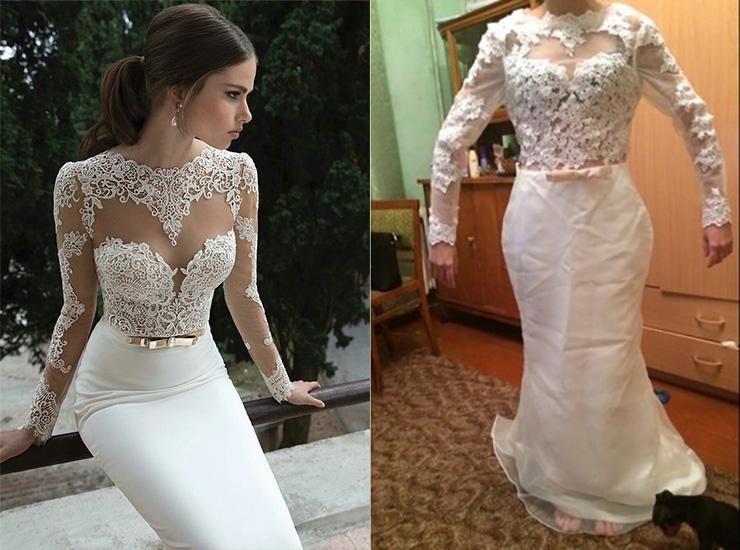 Почему не стоит покупать свадебное платье на AliExpress (фото)