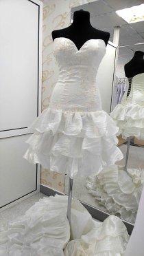 Платье трансформер 3 в 1 (цвет молоко)