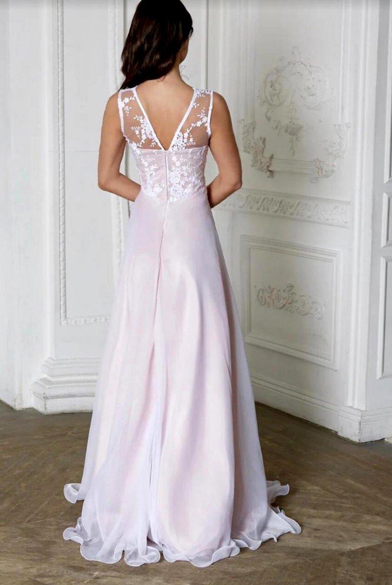 Свадебное платье Дания мультишифон