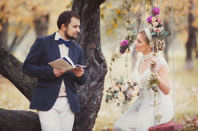 Свадьба в стиле ШЕББИ-ШИК - оформление, декор, платье невесты