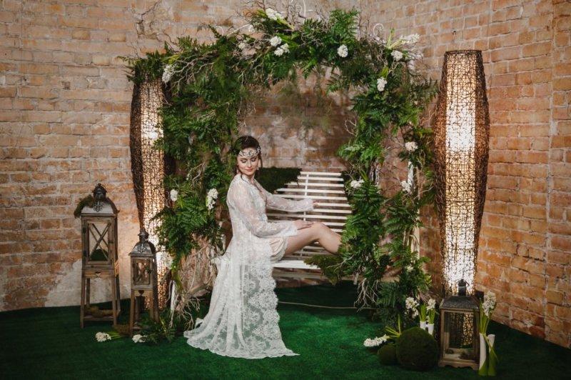 Свадьба в стиле ЭКО-ШИК - оформление, декор, платье невесты