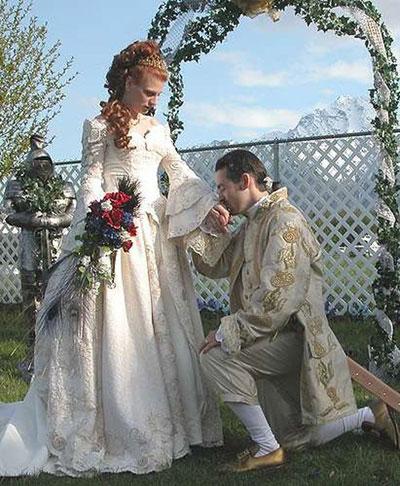 Свадьба в стиле эпохи ВОЗРОЖДЕНИЯ или РЕНЕССАНС - оформление, декор, платье невесты