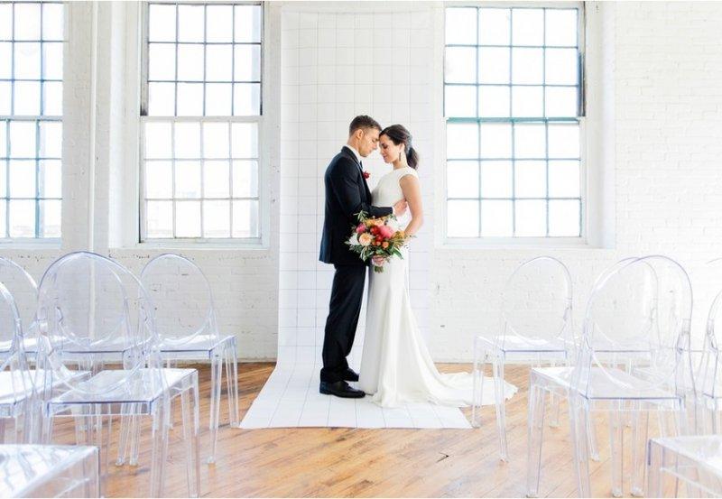 Свадьба в стиле «минимализм»
