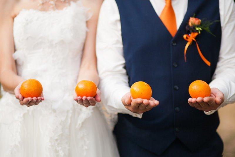 Свадьба в стиле – «Мандариновая»