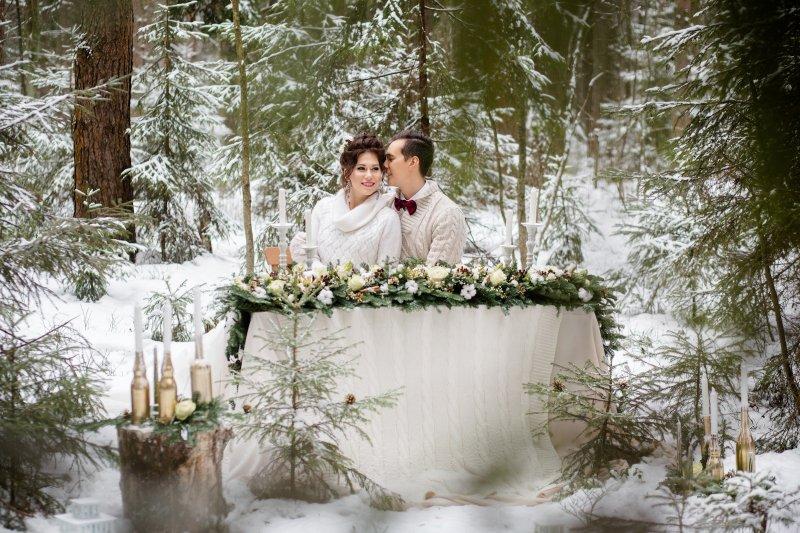 Свадьба в Новогоднем стиле