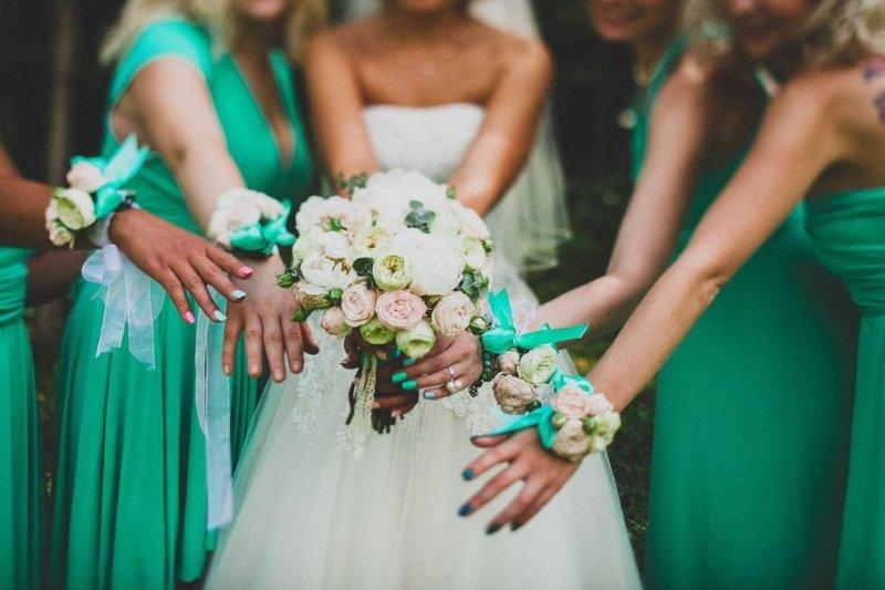 Мятная свадьба на стиле в 2020 году