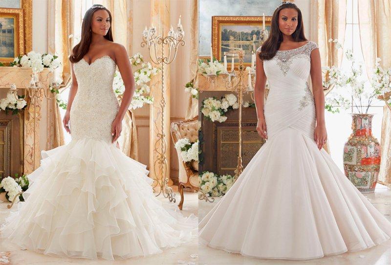 Где купить свадебные платья для полных девушек в Тюмени